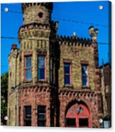 Old Racine Fire Station Acrylic Print