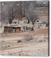 Old Ranch House Acrylic Print