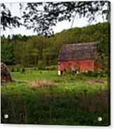 Old Red Barn 2 Acrylic Print