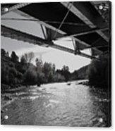 Old Rio Grande Bridge Acrylic Print