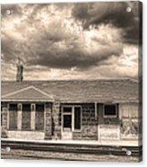 Old Rio Grande Train Stop Acrylic Print