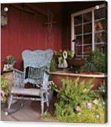 Old Rockin' Chair Acrylic Print