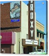 Old Roxy Theater In Muskogee, Oklahoma Acrylic Print