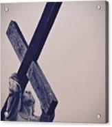 Old Rugged Cross Acrylic Print