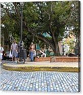 Streets Of Old San Juan Acrylic Print