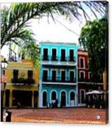 Old San Juan Pr Acrylic Print