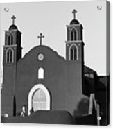 Old San Miguel Mission, Socorro, New Mexico, March 12, 2017 Acrylic Print