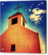 Old Santa Fe Church Acrylic Print