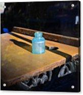 Old School Desk Acrylic Print