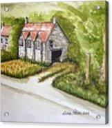 Old Scottish Stone Barn Acrylic Print