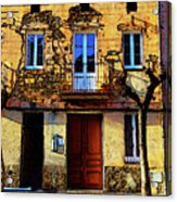 Old Semidetached Houses Acrylic Print