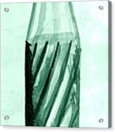 Old Soda Bottle One Acrylic Print