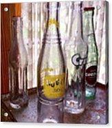 Old Soda Bottles Acrylic Print
