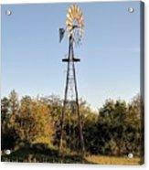 Old Southern Windmill Acrylic Print