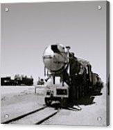 Old Steam Train Acrylic Print
