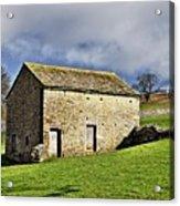Old Stone Barns Acrylic Print