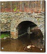 Old Stone Bridge In Illinois 1 Acrylic Print