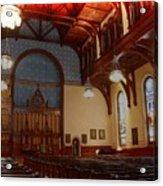 Old Stone Church -2 Acrylic Print