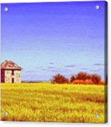 Old Stone Farmhouse Tuscany Acrylic Print