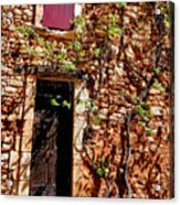 Old Stone House In Provence Acrylic Print