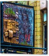Old Store Sign Pittsburgh Pennsylvania V4 Dsc0917 Acrylic Print