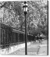 Old Street Lights Acrylic Print