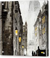Old Street Acrylic Print by Yuriy  Shevchuk