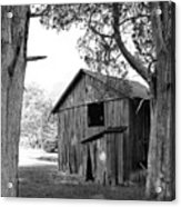 Old Structures Acrylic Print