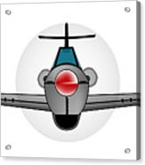 Old Style Fighter Aircraft Acrylic Print