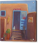 Old Taos Grocery Acrylic Print