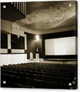 Old Theater 2 Acrylic Print