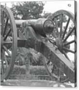 Old Time Cannon Acrylic Print