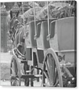 Old Time Horse And Buggy Acrylic Print