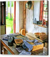 Old Time Kitchen At Old World Wisconsin Acrylic Print