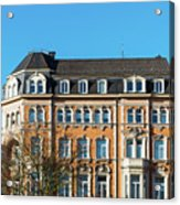old Town buildings in Aachen, Germany Acrylic Print