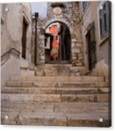 Old Town Entrance Acrylic Print