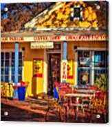 Old Town Ice Cream Parlor Acrylic Print