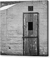 Old Town Jail Acrylic Print