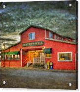 Old Town Mall Bandon Acrylic Print