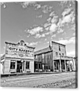 old town of Fort Steele BC Canada Acrylic Print