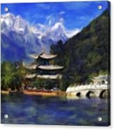 Old Town Of Lijiang Acrylic Print