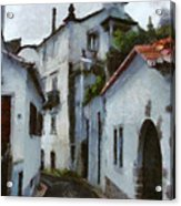 Old Town Street Acrylic Print