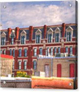 Old Town Wichita Kansas Acrylic Print