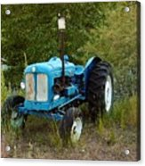 Old Tractor 3 Acrylic Print