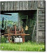 Old Tractor - Missouri - Barn Acrylic Print