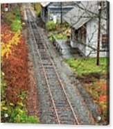 Old Train Station Norwich Vermont Acrylic Print