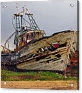 Old Trawler Acrylic Print