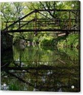 Old Trestle Bridge Acrylic Print