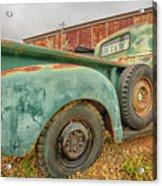 Old Truck Acrylic Print