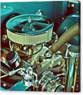 Old Truck Engine Acrylic Print